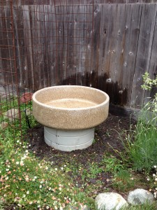 hand washing planter