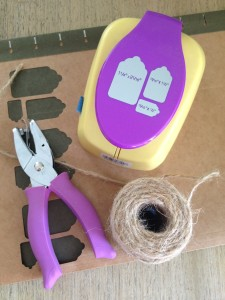 making gift tags
