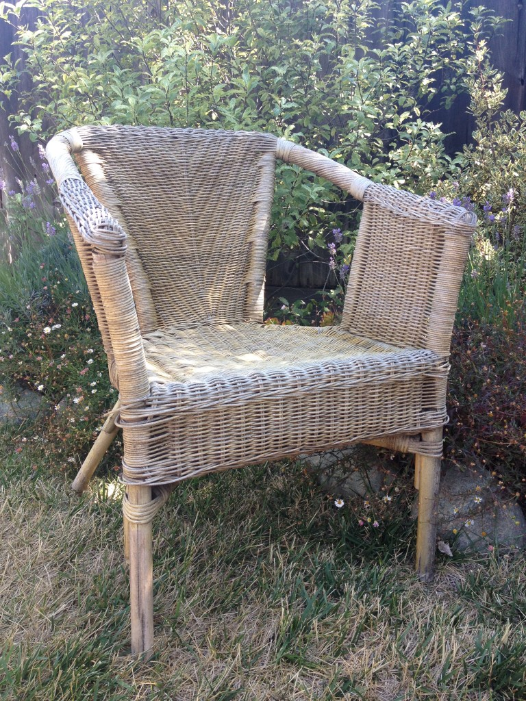 salvaged wicker